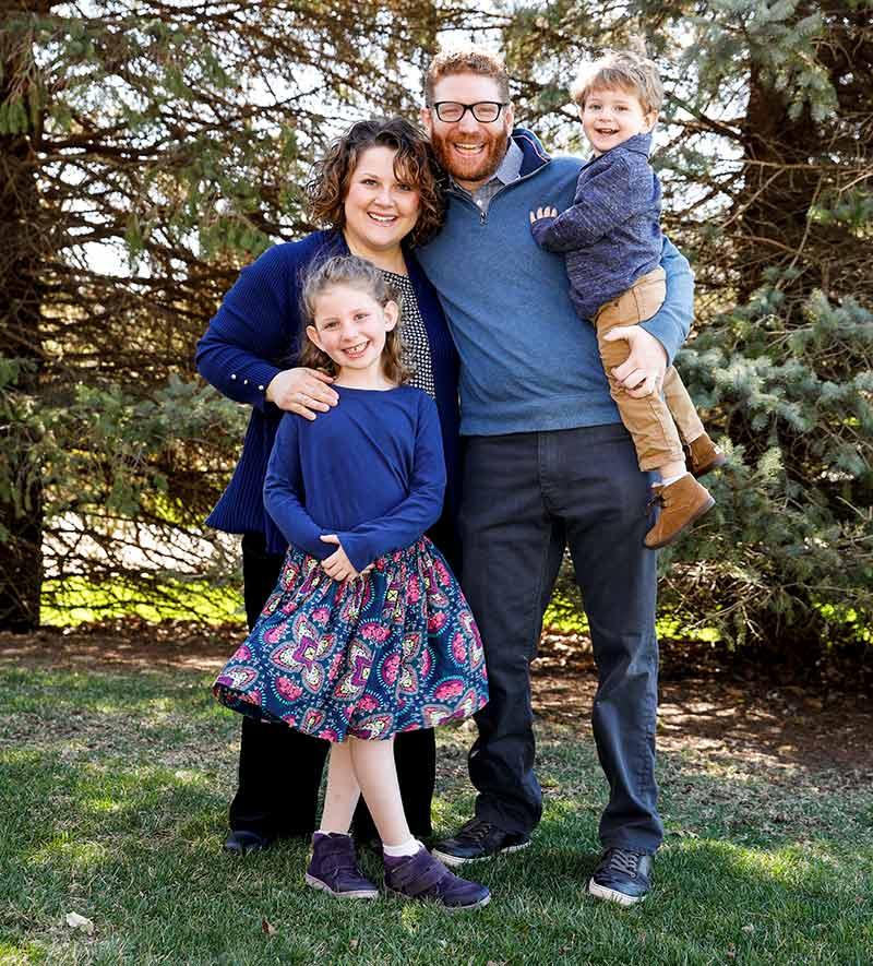 Brandon Seigel Family Man
