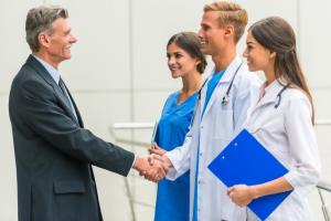 Doctors Shaking Hands